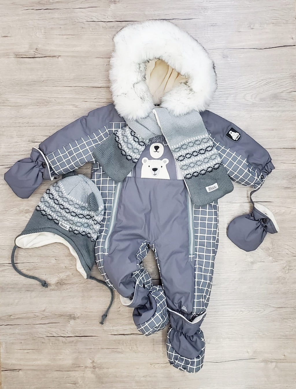 Baby Jacob's Snowsuit
