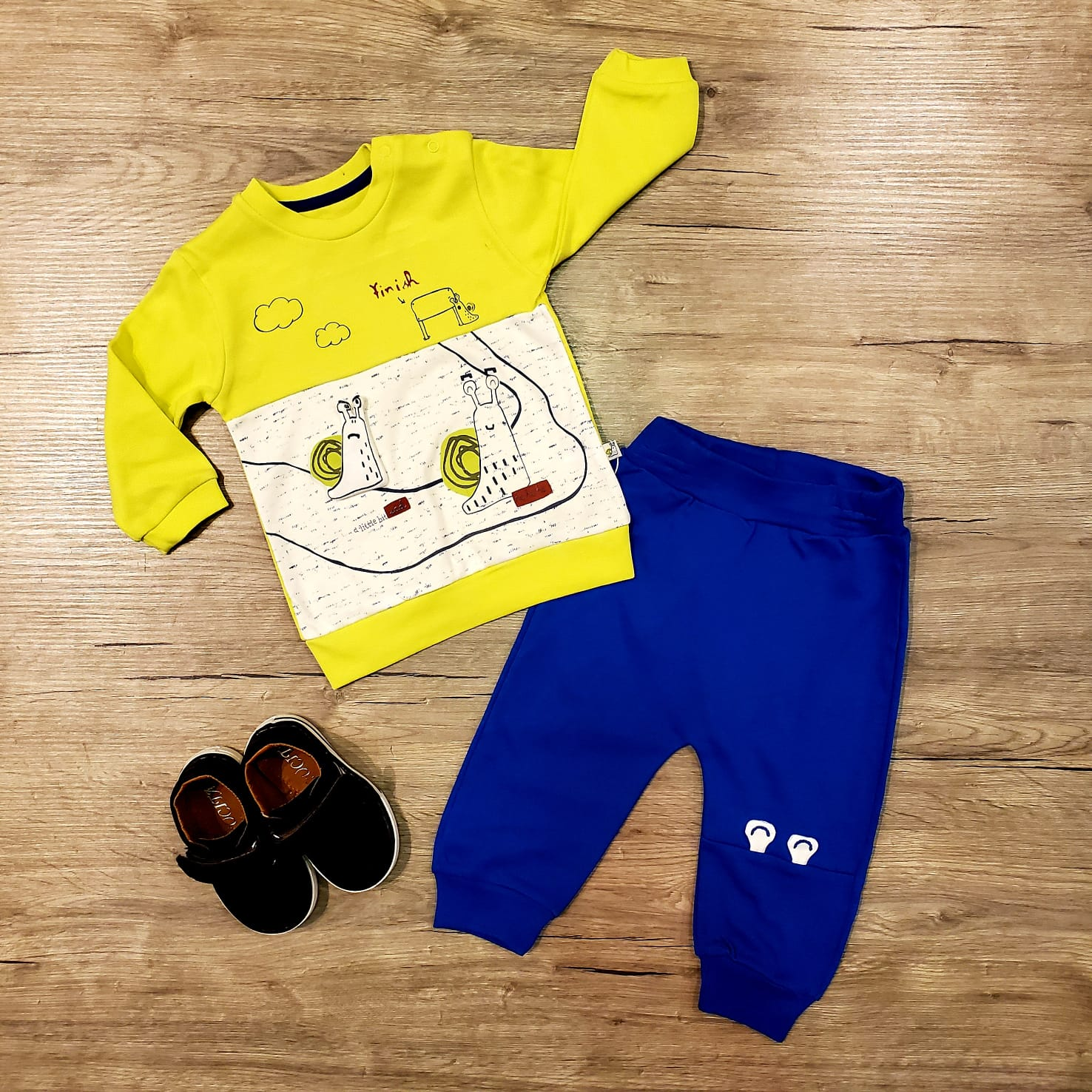 baby 2 PC cool cotton jogger jogging set