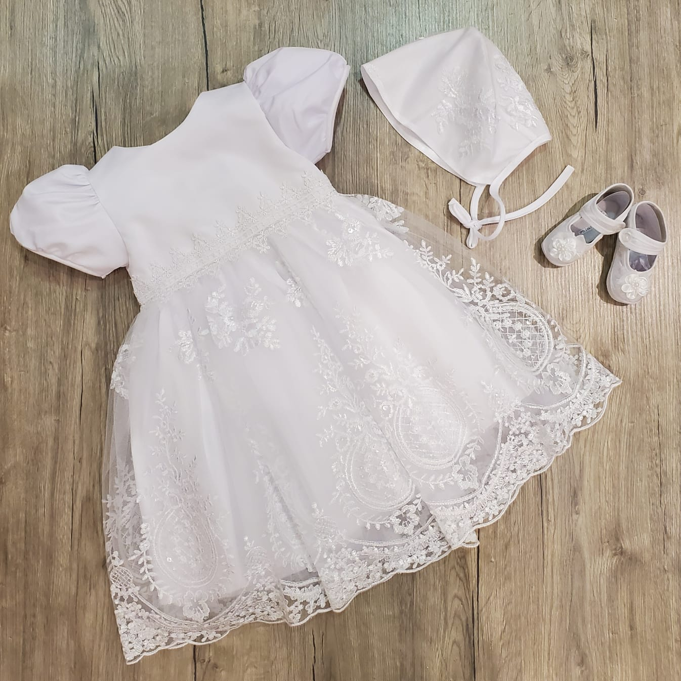Joy's Short Baptism Dress