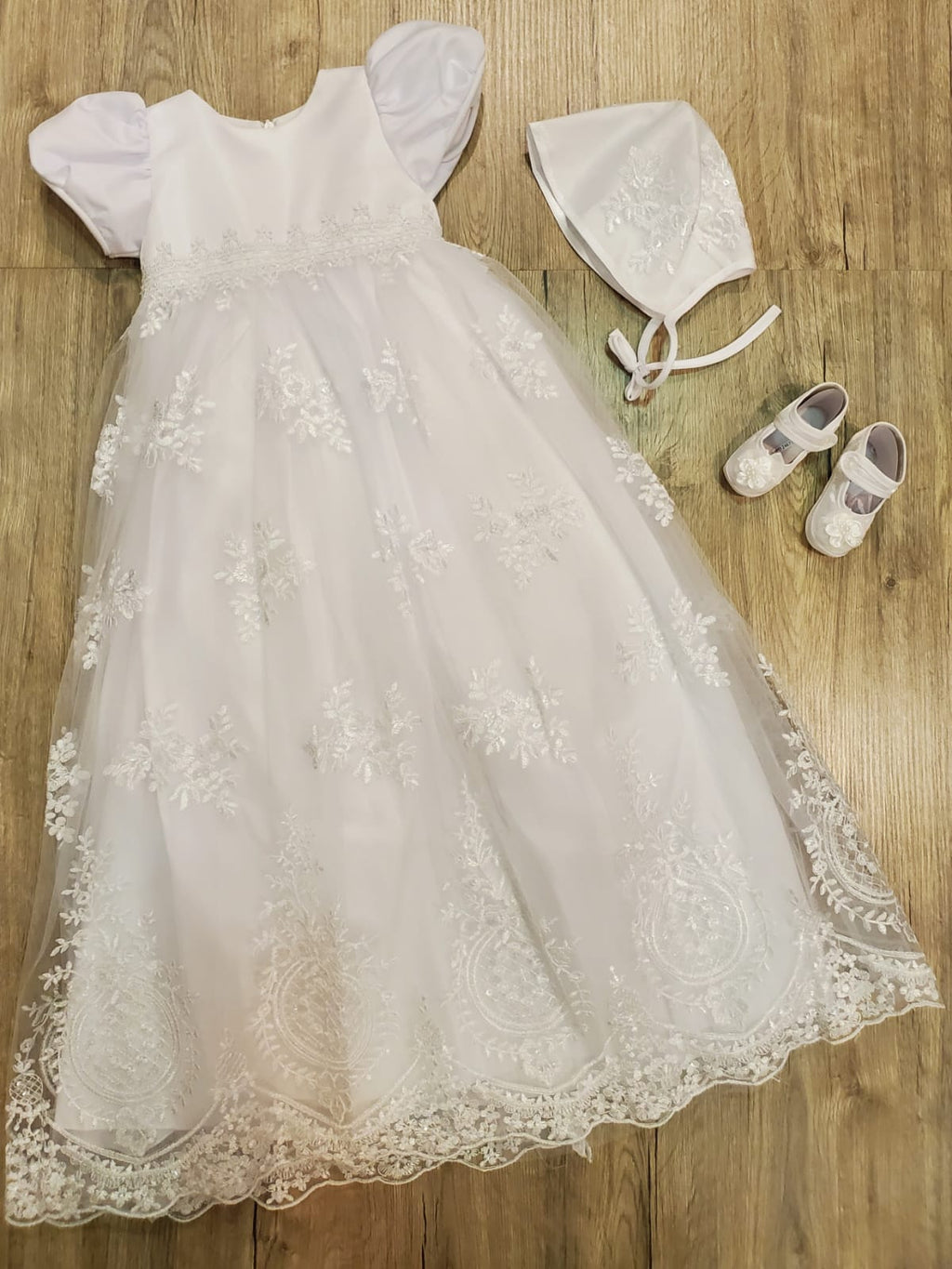 Kiki's Long Baptism Dress