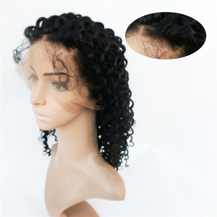 Curly 360 Lace Wigs Brazilian Human Hair 180% Density | JYL HAIR