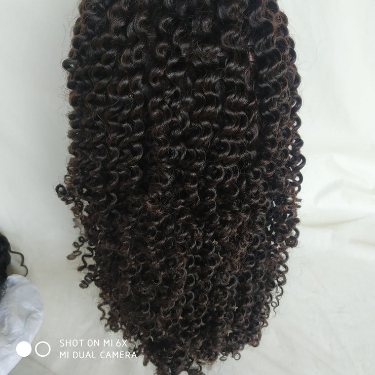 Curly Silk Top 360 Wig Brazilian Human Hair 180% Density | JYL HAIR