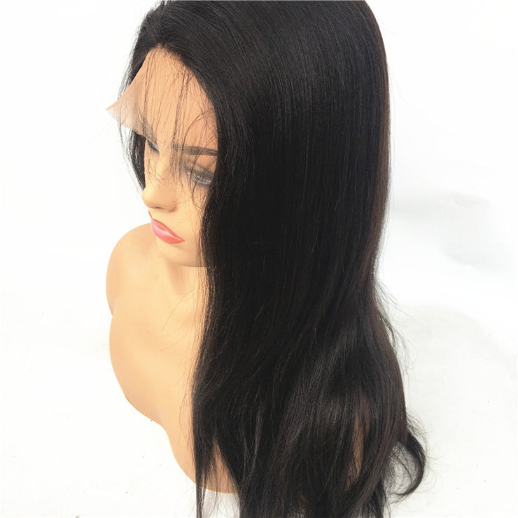 Yaki Brazilian Human Virgin Hair Full Lace Wig 130% Density | JYL HAIR