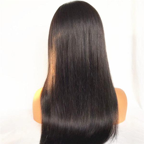 Straight HD Full Lace Wigs Brazilian Human Hair 130% Density | JYL HAIR