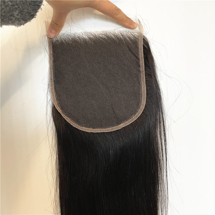 Straight 6X6 HD Lace Closure Brazilian Human Virgin Hair | JYL HAIR
