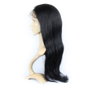Straight Brazilian Human Hair Silk Top Glueless Full Lace Wig 130% Density | JYL HAIR