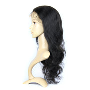 Body Wave Brazilian Human Hair Natural Color Full Lace Wig 130% Density | JYL HAIR