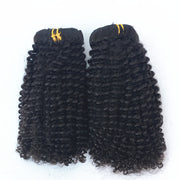 Kinky Curl Brazilian Human Hair Bundles Clip-ins Hair 3PCS 100g/PC | JYL HAIR