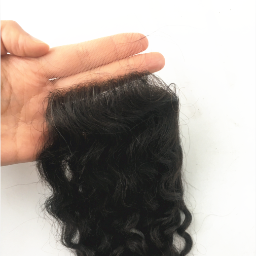 Curly 2.5X4 HD Lace Closure With PU Human Virgin Hair | JYL HAIR