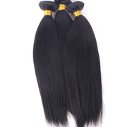 Yaki Brazilian Human Hair Bundles Machine Wefts 3PCS 100g/PC | JYL HAIR