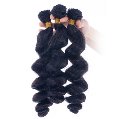 Loose Wave Brazilian Human Hair Bundles Machine Wefts 3PCS 100g/PC | JYL HAIR