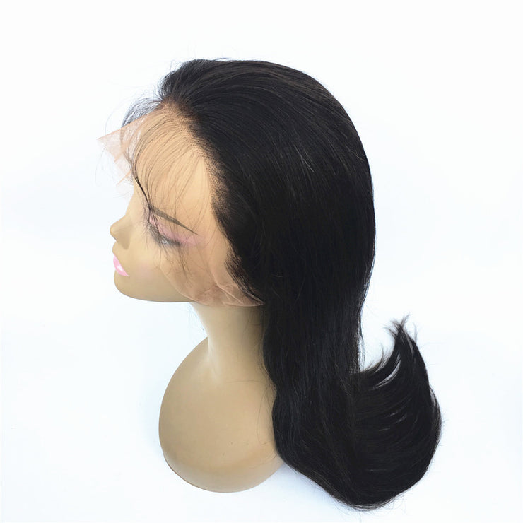 Natural Straight 360 Lace Wigs Brazilian Human Hair 180% Density | JYL HAIR