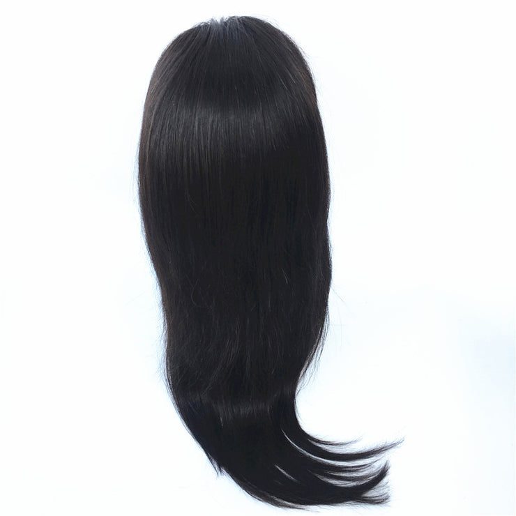 Straight Silk Top Full Lace Wig Brazilian Human Virgin Hair 130% Density | JYL HAIR