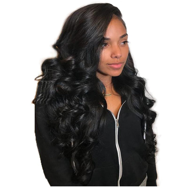 Loose Wave Lace Front Wigs Brazilian Human Hair Pre-plucked | JYL HAIR