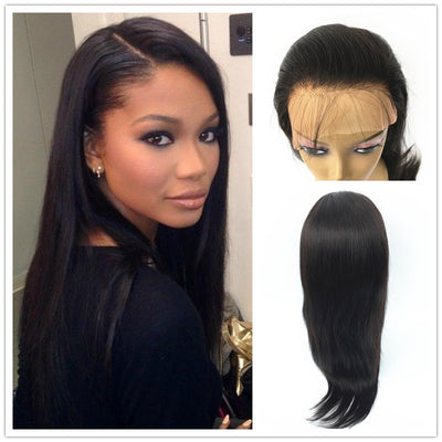 Yaki 360 Glueless Wigs Brazilian Human Hair 180% Density Pre-plucked | JYL HAIR