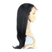 Silk Top Yaki Brazilian Human Hair Full Lace Glueless Wig | JYL HAIR