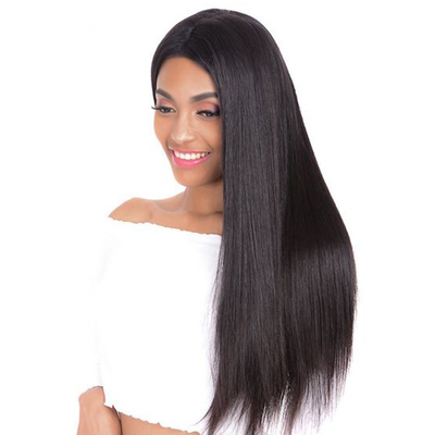Yaki Straight Full Lace Wig Brazilian Human Virgin Hair 130% Density | JYL HAIR
