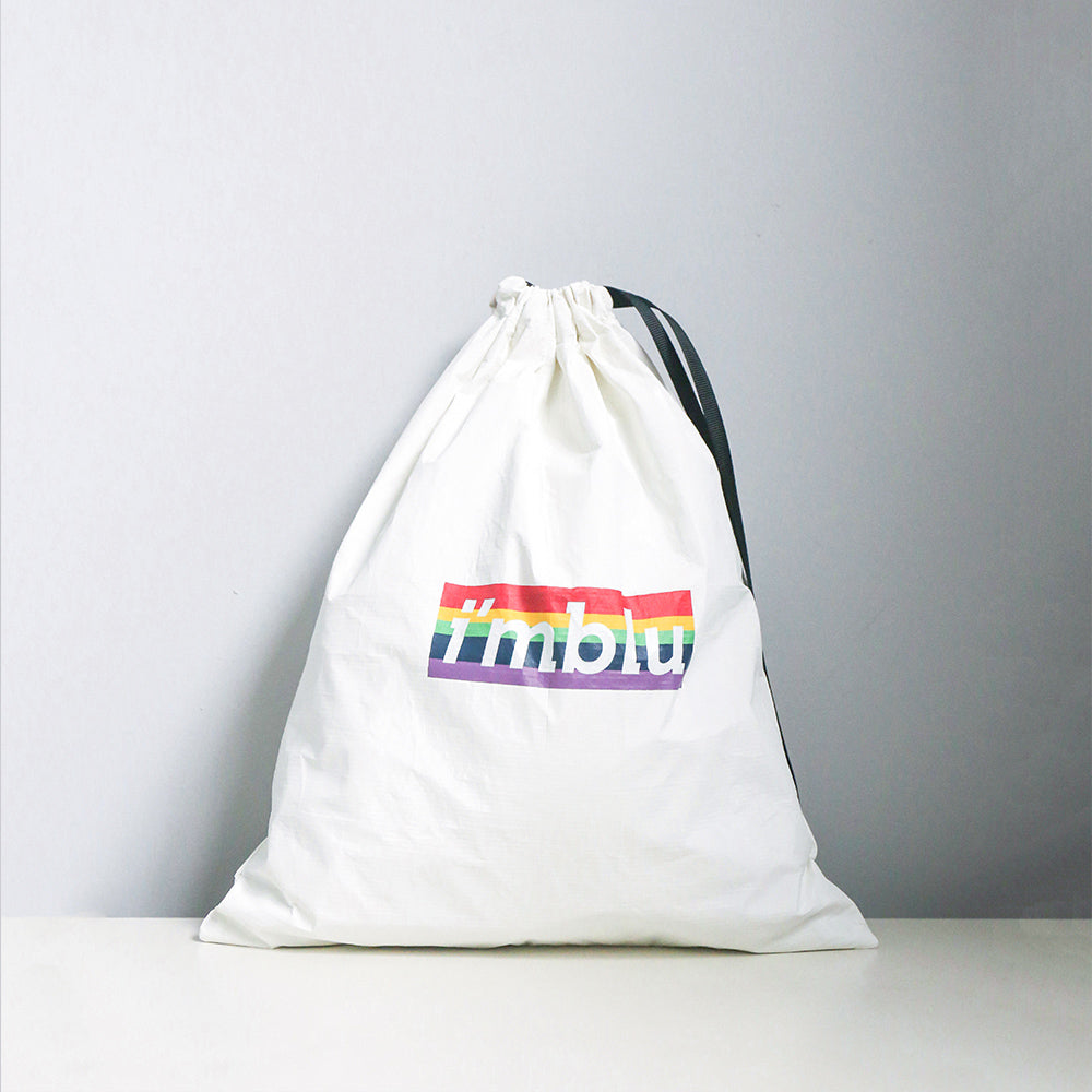 Drawstring Tote Bag Rainbow Limited Edition