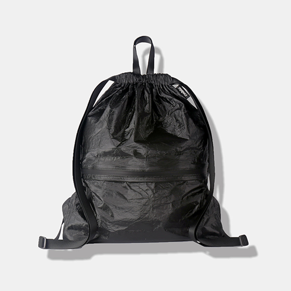 Drawstring Backpack Black