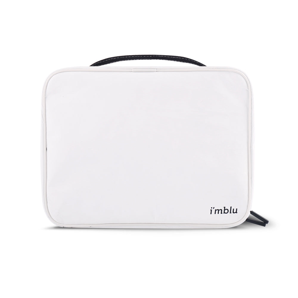 Toiletry Bag L White