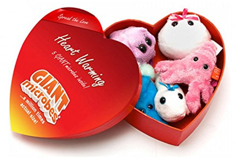 GIANT MICROBES Romantic Heart Warming Gift Box - gift-siri