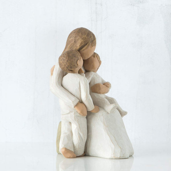 Willow Tree Quietly, sculpted hand-painted figure - gift-siri