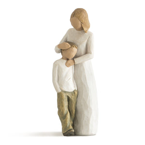 Willow Tree Mother and Son, sculpted hand-painted figure - gift-siri