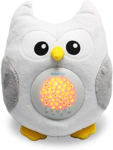 Bubzi Co Baby Toys Owl White Noise Sound Machine, Toddler Sleep Aid Night Light, Unique Baby Girl Gifts & Baby Boy Gifts, Woodland Baby Shower, Portable Baby Soother, New Baby Gift, Gender Neutral - gift-siri