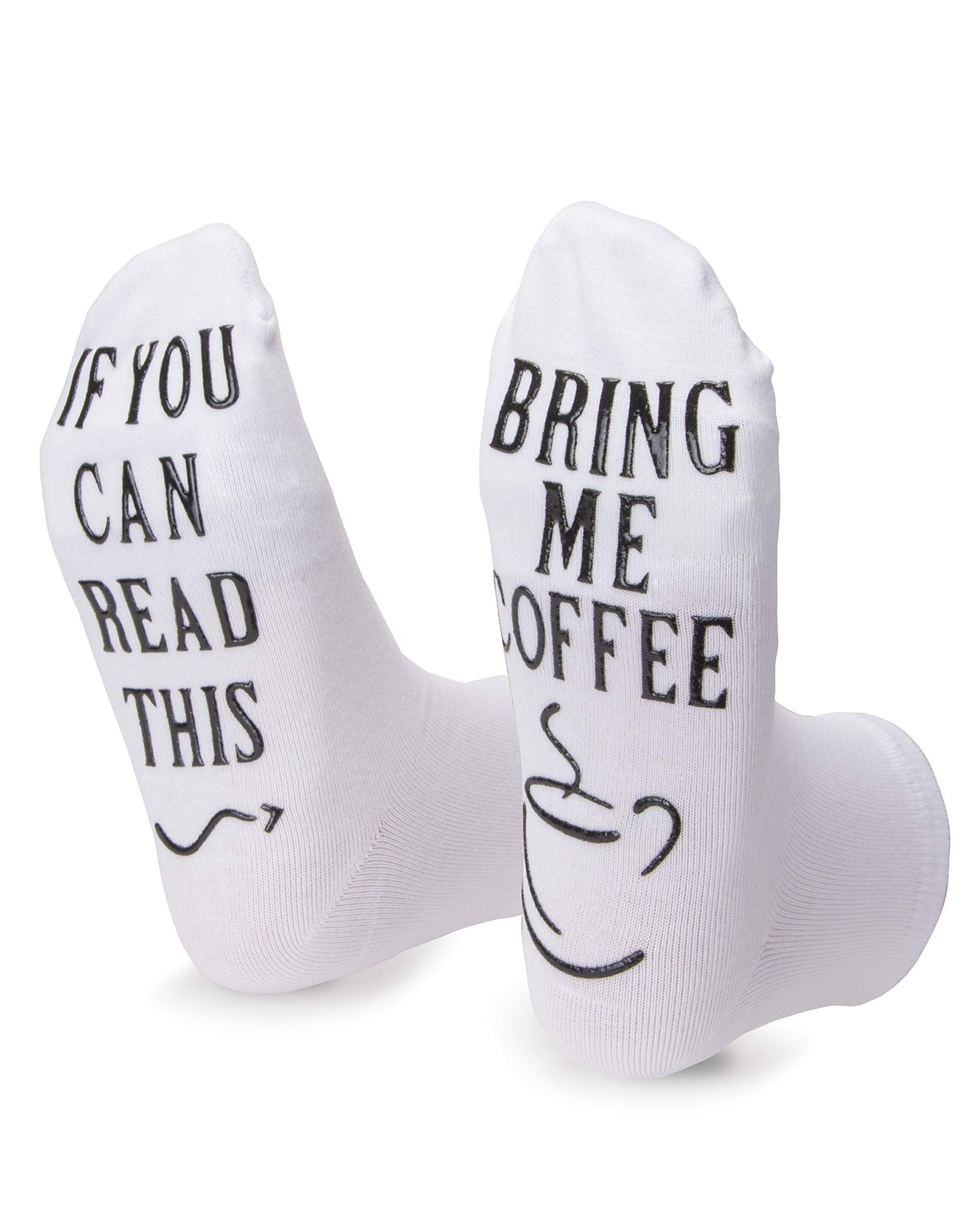 Bring me Coffee Socks Funny Birthday Gifts For Women Men Wife Her Him Husband Sister Best Friend Novelty Socks For Coffee Lovers - gift-siri