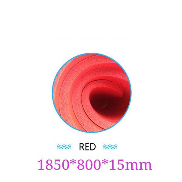 1850x800x15mm Yoga Mat with Position Line Non Slip Carpet - AOMEGA Marketplace