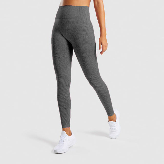 High Waist Seamless Leggings Push Up Yoga Pants - AOMEGA Marketplace