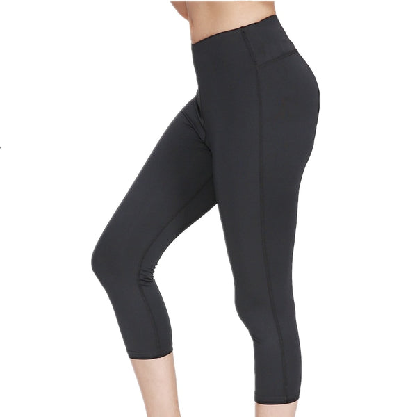 High Waist Calf-length Yoga Pants - AOMEGA Marketplace