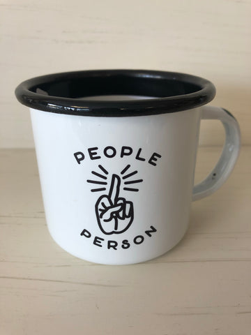 Enamel Mug — People Person