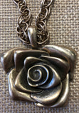Gangster Rose necklace