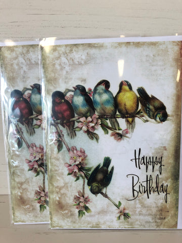 Birthday Card — Birds