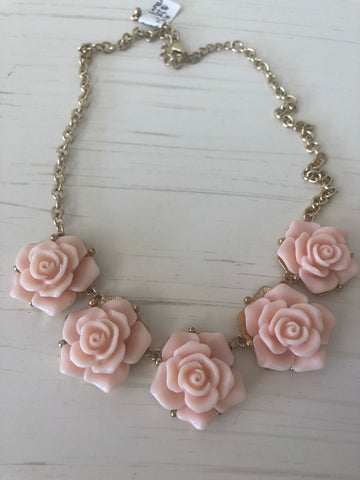 Peachy Rose Necklace