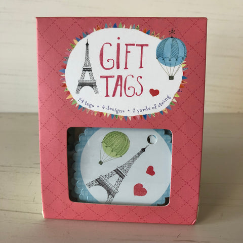 Paris Gift Tags