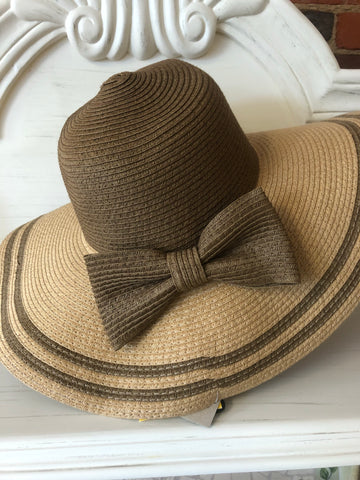 Floppy Brown Garden Hat
