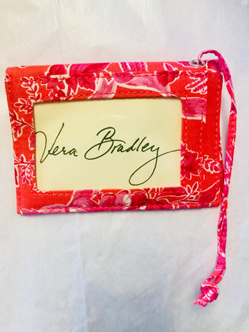 Vera Bradley Hope Toile Luggage Tag