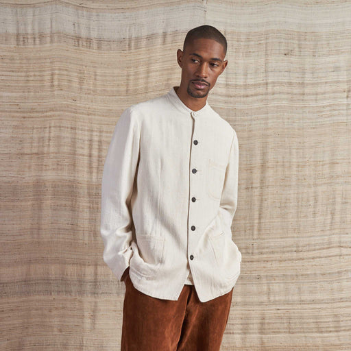 Khadi Jacket in Undyed