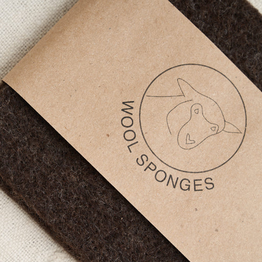 Limited Edition Climate Beneficial™ Wool Sponges in Brown