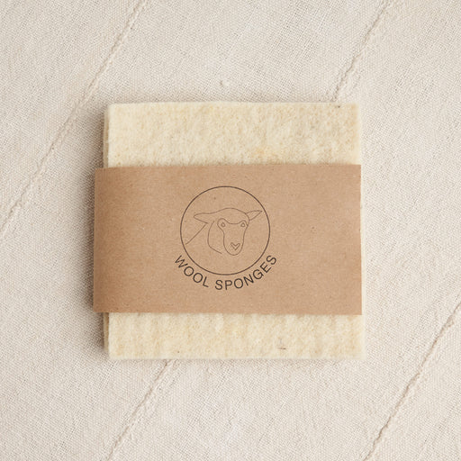 Climate Beneficial™ Wool Sponges in Cream
