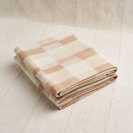Handwoven Prairie Towels in Undyed Colorganic® Cotton