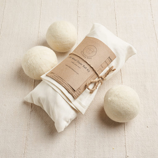 Climate Beneficial™ Wool Dryer Ball Kit