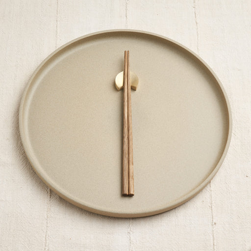 'Four Moon' Brass Chopstick Rest Set