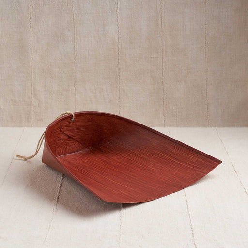 Washi Dustpan in Kakishibu Red
