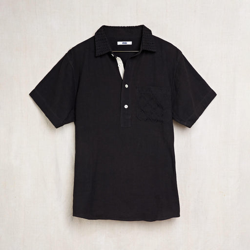 Cedar Shirt in Iron Black Kala Cotton