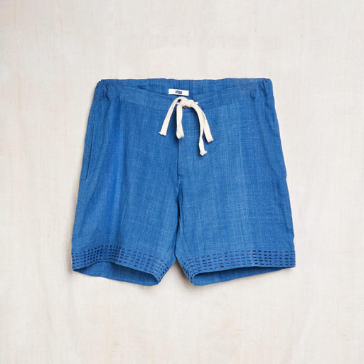 Deck Shorts in Indigo Kala Cotton