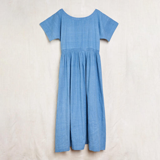 Nova Dress in Indigo Kala Cotton