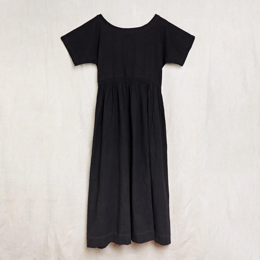 Nova Dress in Iron Black Kala Cotton